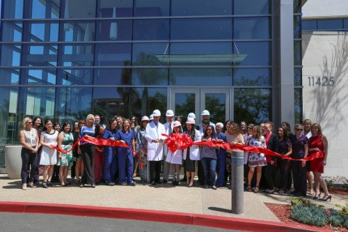 San Diego Fertility Center Hosted a Ribbon Cutting Ceremony at Its New, Expanded Facility
