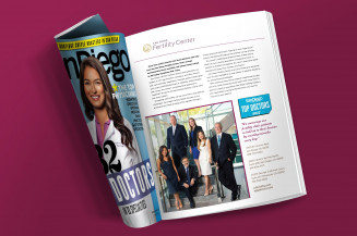 SDFC Featured in San Diego Magazine's 'Top Doctor' Issue